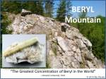 Beryl Cover Picture - Acworth Beryl Mtn